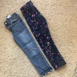 Lot of 2 4T fashion jeans!